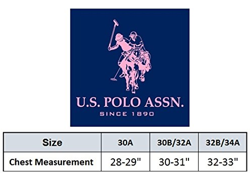 f9cba05a43d2b U.S. Polo Assn. Girls  Padded Underwire Bra (4 Pack) – Cloud lite s
