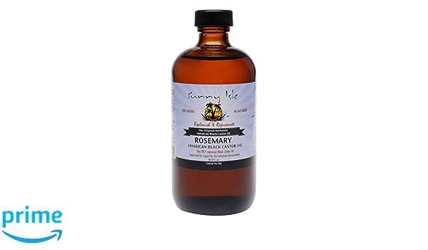 SUNNY Man Romero Jamaica negro Castor Oil, 8 oz: Amazon.es: Salud y cuidado personal