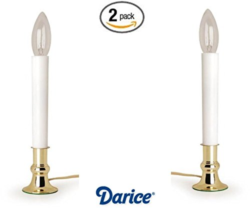 Darice 6206 Plated Candle Candles