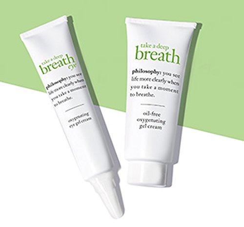 Philosophy Take a Deep Breath Face & Eye Gel Cream Deluxe Mini Duo