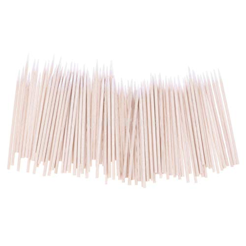 - 100 Pcs Cotton Stick Clean Tool for AirPods Earphone All Phones Charge Port