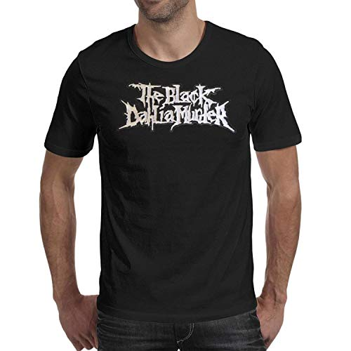 The-Black-Dahlia-Murder-Melodic-Death-Metal- Men's Classic T-Shirt 100% Cotton (Best Melodic Black Metal)