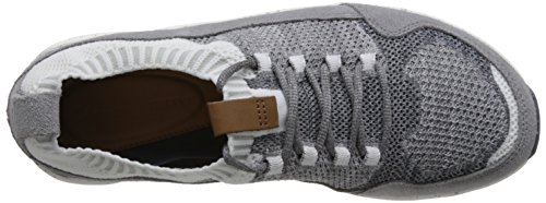 Mens Textile Active Gray Clarks Trainers Tri Knit dOAIf