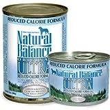 Natural Balance Original Reduced Calorie Formula Food (Pack of 12 6-Ounce Cans), My Pet Supplies