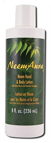 Neem Hand Body Lotion Neem Aura 8 oz Lotion