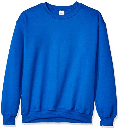 Royal Blue Crewneck - Gildan Men's Fleece Crewneck Sweatshirt, Royal, 3X-Large