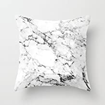 "Popawq Decor Canvas Marble Pillowcase Decorative Throw Pillow Cover 26"" X 26"""