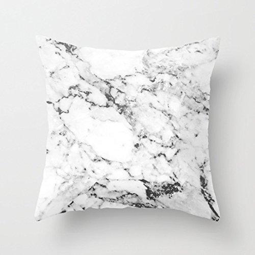 Home Decorative Marble Pillowcase Polyester Throw Pillow Cov