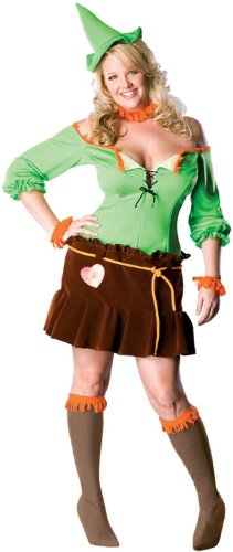 [Scarecrow Costume - Plus Size - Dress Size 16-22] (Scarecrow Adult Plus Costumes)