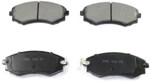 DuraGo BP700 MS Front Semi-Metallic Brake Pad ()
