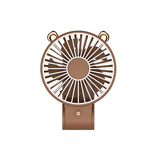 GOVOW-Tech Small Fans Electric for Women & Children Portable Mini Handheld Fan Personal Desk Table Desktop Cooling Fan Rechargeable