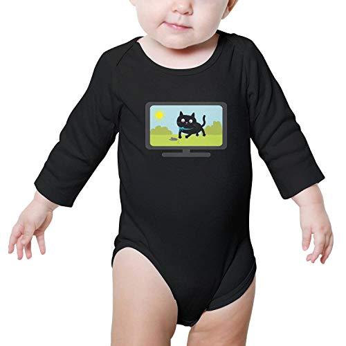 SHUOCDAH Big cat tv 2018 Baby Boys Cool Baby Onesies