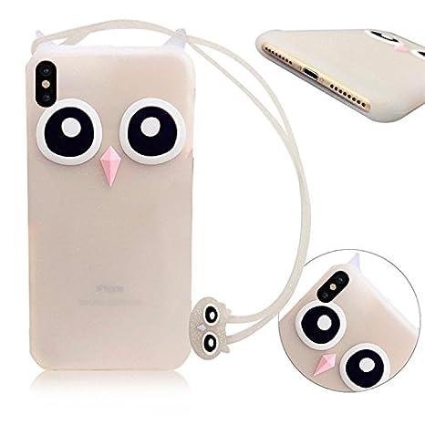 Funda iPhone 10, Funda iPhone X, MingKun iPhone X/iPhone 10 5.8 Pulgada Transparente Silicona 360 Grados Full Body Fundas Carcasa Silicona Funda Case-Polvo