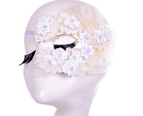 Adorable Woman Women's Beautiful Metal Laser Cut Mask Opera Prom Party Masquerade Mask
