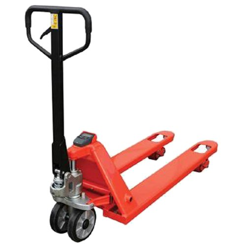 Action Handling WS1150555PPP Compact Weigh Scale Pallet Truck, 2000 kg Load Capacity, 1150 mm Fork Length, 555 mm Fork Width