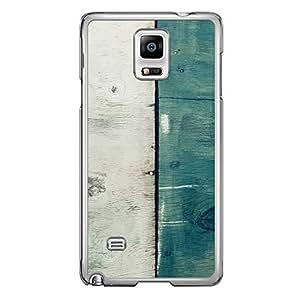 Loud Universe Samsung Galaxy Note 4 Madala N Marble A Wood 6 Printed Transparent Edge Case - Multi Color