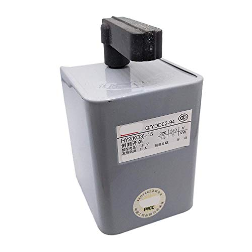 Forward Reversing Drum Switch 15 Amp HY2-15 380V-3KW/220V-1.8KW