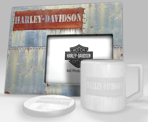 Harley Davidson Photo Frames (Harley-Davidson® Worn Metal Collection 4