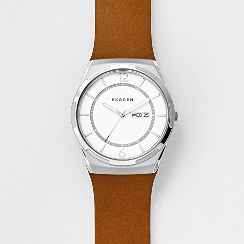 Skagen-Mens-SKW6304-Melbye-Light-Brown-Titanium-Leather-Watch