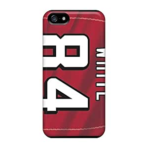 GAwilliam Case Cover For Iphone 5/5s - Retailer Packaging Atlanta Falcons Protective Case