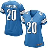 Detroit Lions Barry Sanders Game Jersey Womens