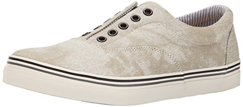 Kenneth Cole REACTION Mens Around The Globe Fashion Sneaker Beige qCINP
