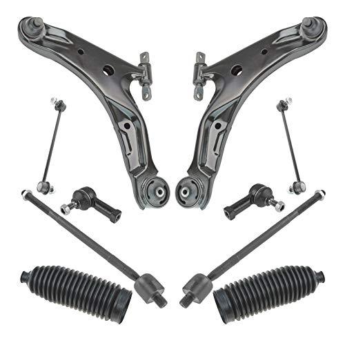 Lh Steering Arm - Steering & Suspension Kit Front LH RH Set of 10 for 01-06 Hyundai Santa Fe