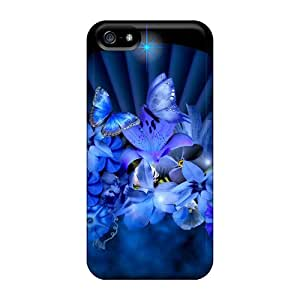 Case Cover Blue Beauty/ Fashionable Case For Iphone 5/5s