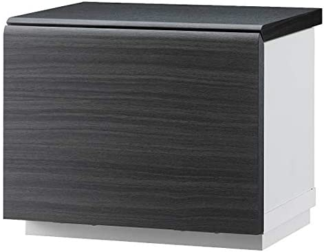 ペット用仏壇 メモリアルステージ メモリアルボックス ペット用 幅29×奥行21.7×高さ24.1cm グレーブラック AMK-0690GB