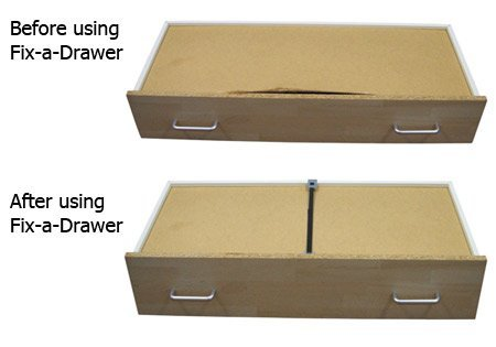 Fix A Drawer Kit X Pack Repair Broken Drawers Quickly Easily Reinforce Strengthen Drawers Mend Broken Drawers Amazon Com