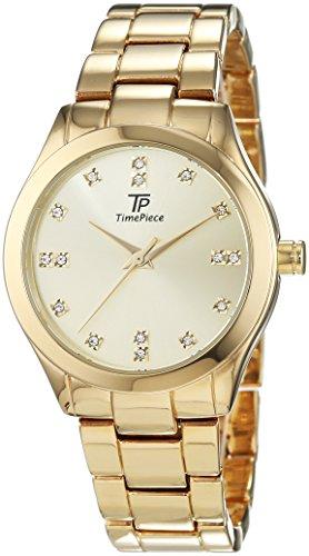 Time Piece Damen-Armbanduhr Fashion Analog Quarz Edelstahl beschichtet TPLA-91019-65M