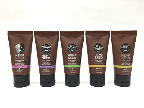 Earthly Body Hemp Seed Hand & Body Lotion 1oz (Set of 5) (Lotion Set Hand)