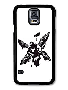 AMAF ? Accessories Linkin Park Hybrid Theory Album Black and White case for Samsung Galaxy S5