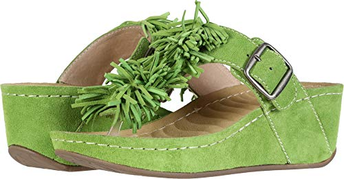 David Tate Womens Slide - David Tate Women's Festive Avocado 10 M US