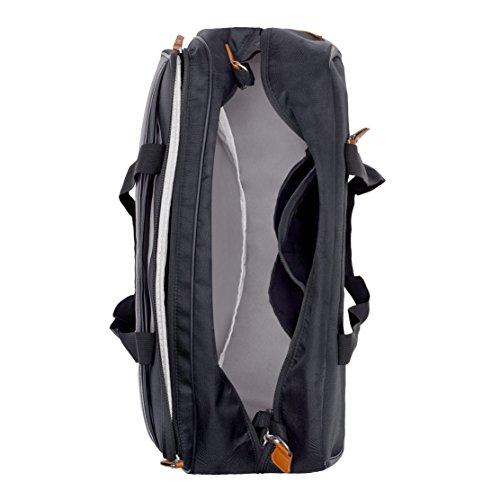 Babymoov Traveller A043567 - Bolso maternal, color negro Negro