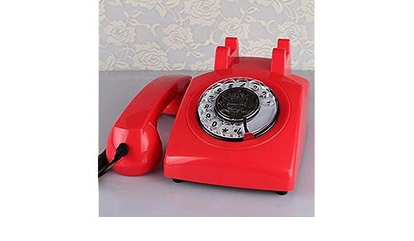 ZXL Teléfono Fijo de Escritorio con Cable Fijo, teléfono ...