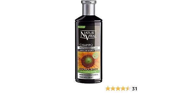 Naturaleza y Vida Champú Color Negro - 300 ml