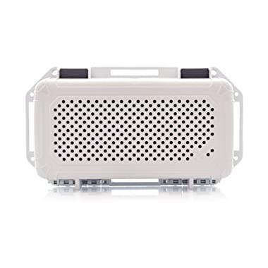 AudioActiv VAULT LS Waterproof, Shockproof Hard Cover Travel Case for Bose SoundLink Mini I and II (White)