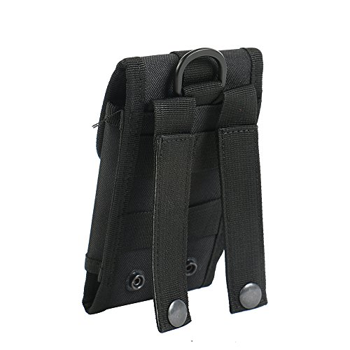 bolsa del cinturón / funda para Kazam Thunder 2 5.0, negro + Auriculares | caja del teléfono cubierta protectora bolso - K-S-Trade (TM)