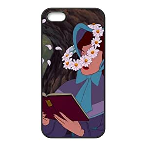 iPhone 4 4s Cell Phone Case Covers Black Alice in Wonderland Character Alice's Sister Phone cover T7421240