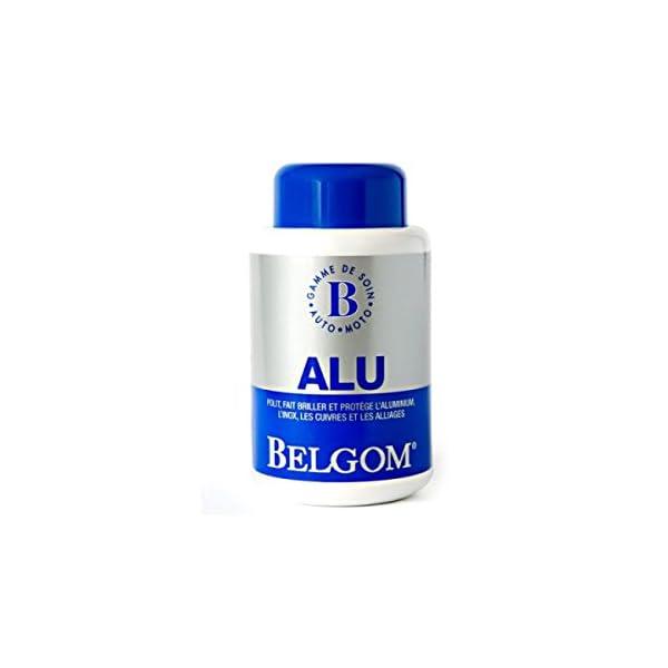 Nettoyant Belgom alu 250ml + chiffon de nettoyage gratuit