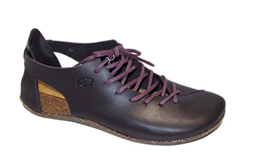 Loints of Holland Damen Schnürhalbschuhe Violett