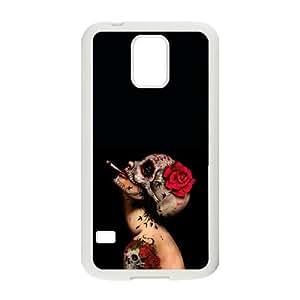 Viva La Muerte Samsung Galaxy S5 Cell Phone Case White Phone Accessories JVG20100