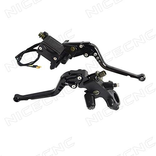 Adjustable Motorcycle Levers (NICECNC Black 22mm 7/8