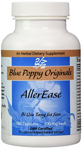 Blue Poppy - Aller Ease 180 caps 500mg