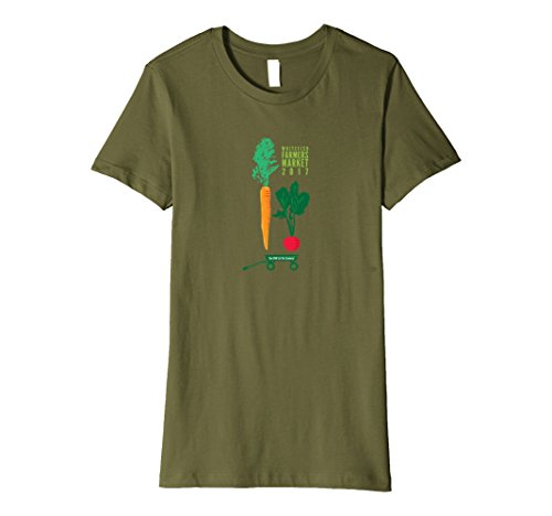 Womens Whitefish Farmers Market 2017 XL Olive