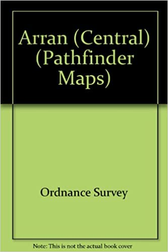 Buy Arran (Central) (Pathfinder Maps) Book Online at Low