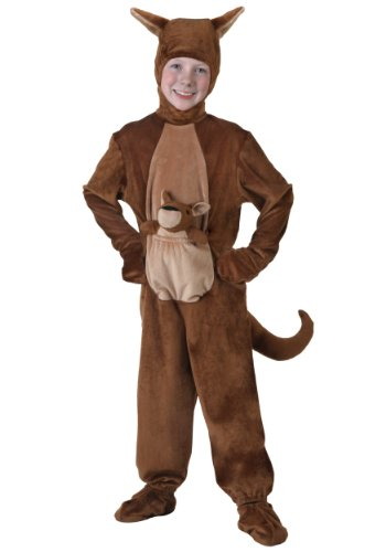 Fun Costumes unisex-child Big Girls' Kangaroo Costume Medium