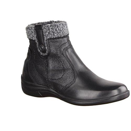 noir Bottes Confortable 442 Textile Slowlies cuir Bottines Chaussures TtqXxZBrwq