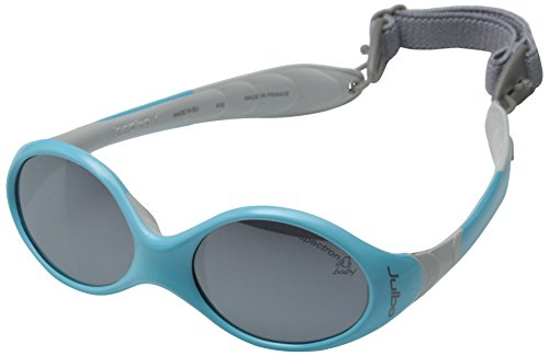Julbo Looping I Baby Sunglasses, Spectron 4 Baby Lens, Blue/Grey, 0-18 - Sunglasses Spectron